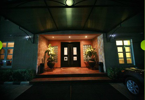 Savoy Suites Lagos Entrance
